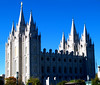 The Mormon Temple - Salt Lake City