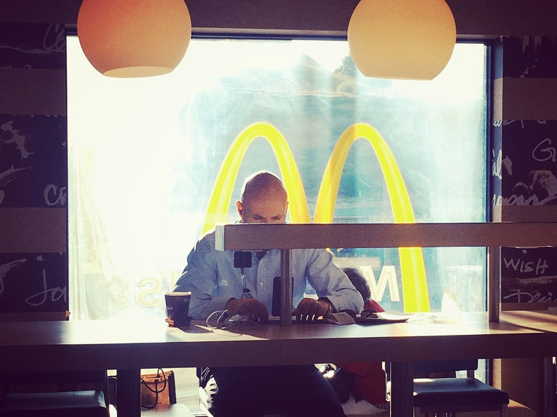 Ron Hall | Mcdonald's workspace