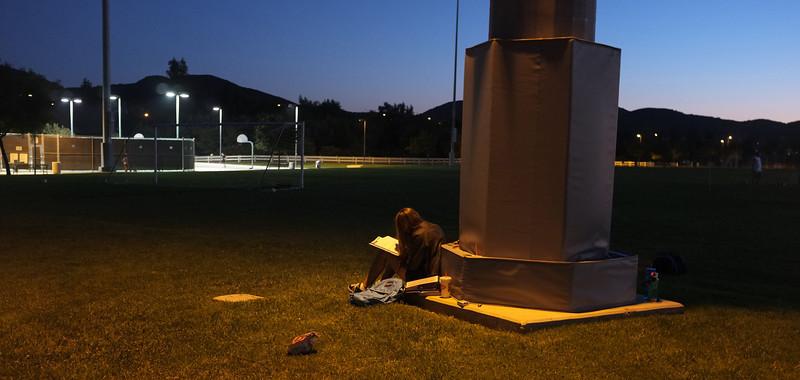 Girl studying DSCF3130