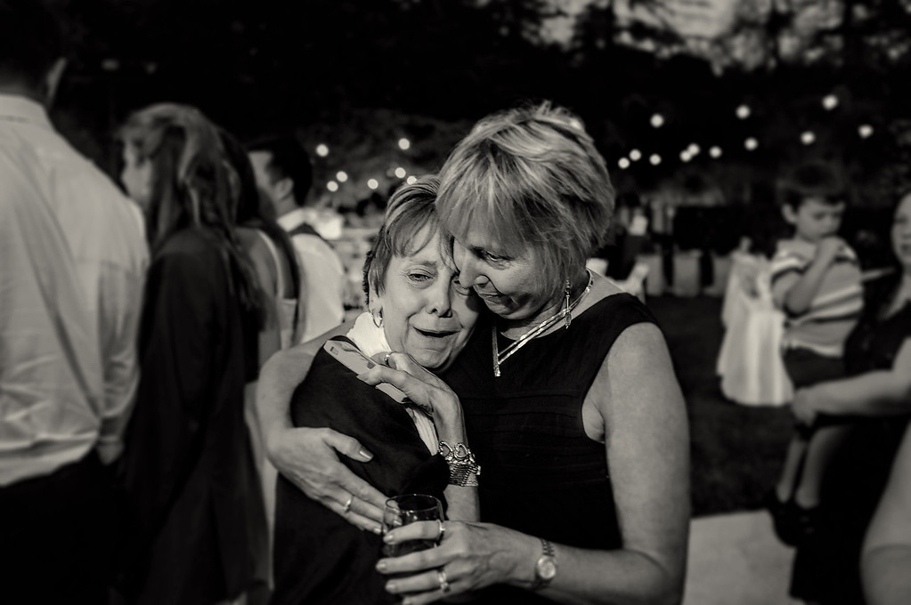 Two Sisters at a wedding.