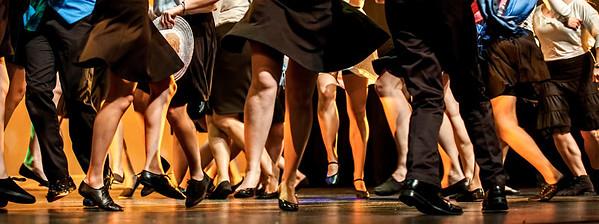 Dancing feet !
