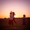 Throwing Rocks at the Sunset