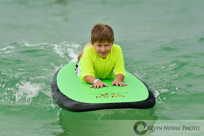 August 15, 2015. Autism Surfs, Panama City Beach County Pier.  © 2015 Kevin Novak