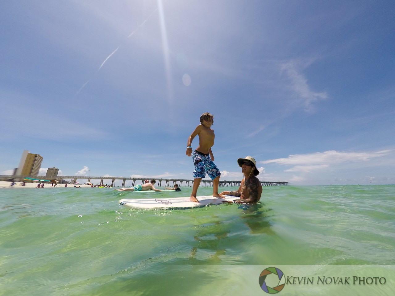 July 23, 2016. Autism Surfs, Panama City Beach County Pier.  © {iptcyear4} Kevin Novak.