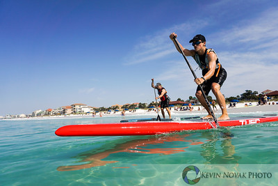May 9, 2015, Destin, FL--GUSU PSUP Paddleboard Race Series.   Determined. ©2015 Kevin Novak.