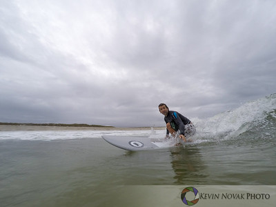 Gabriel Gray.  November 19, 2015: Panama City Beach, FL.  Surfing, St. Andrews State Park.