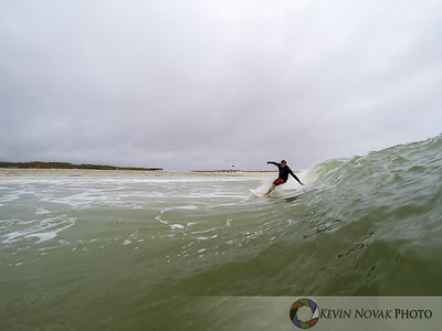 Joe Girardi.  November 19, 2015: Panama City Beach, FL.  Surfing, St. Andrews State Park.