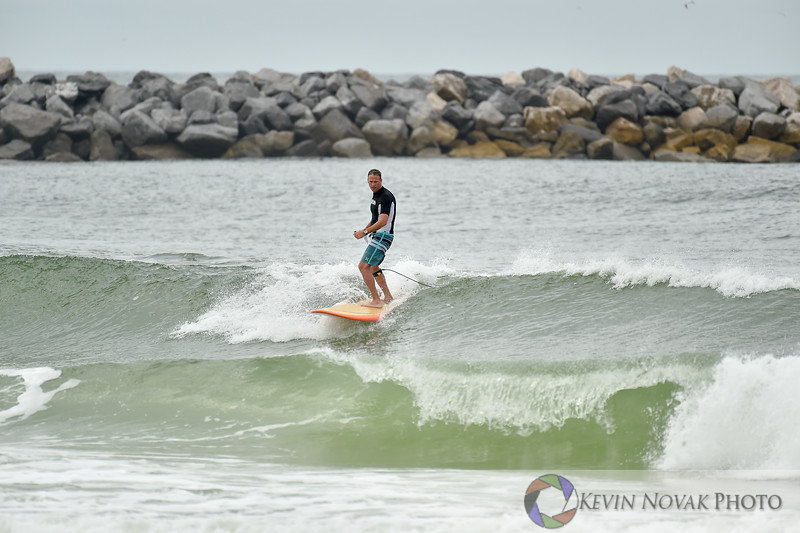 Panama City Beach, FL.  September 29, 2015. Surfing action, St. Andrews State Park.  © 2015 Kevin Novak