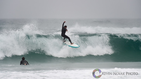 November 23, 2014, Panama City Beach, FL. Surfing, St. Andrews State Park, Storm Swell. ©2014 Kevin Novak.