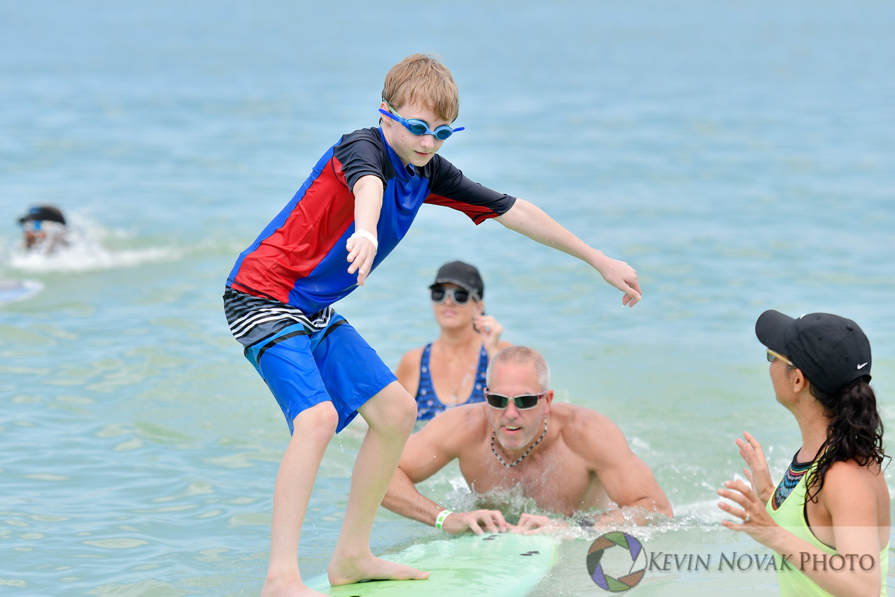 July 08, 2017. Surfers for Autism, Pass-A-Grille Beach.  © 2017 Kevin Novak.