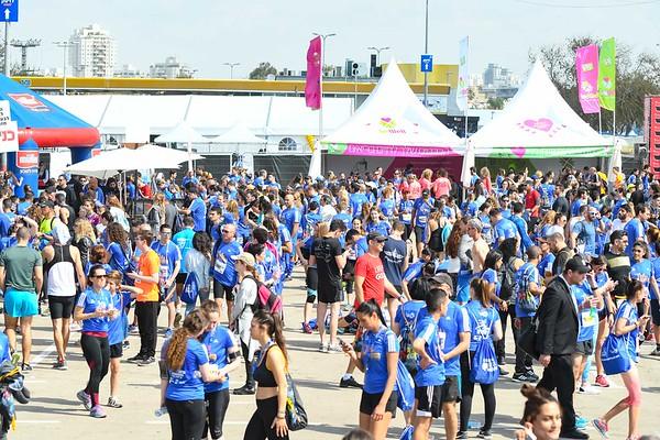 180223 | תל אביב 2018 - מתחם זינוק \ סיום \ אווירה SAMSUNG מרתון
