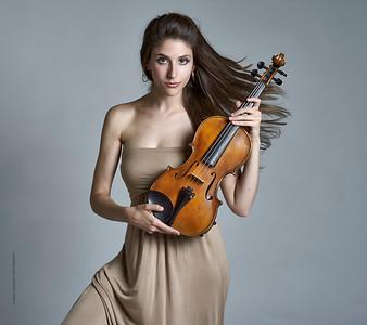 Sabrina Tabby - violinist for cross over string quartet Atlys