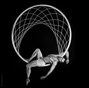 Matthew Richardson -  Cyr Wheel Performer