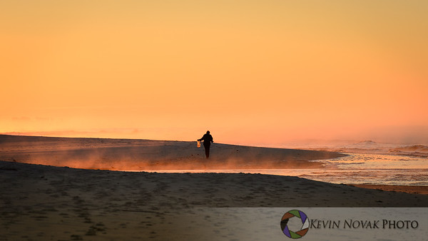 Shellcatcher at sunrise.  ©2015 Kevin Novak.