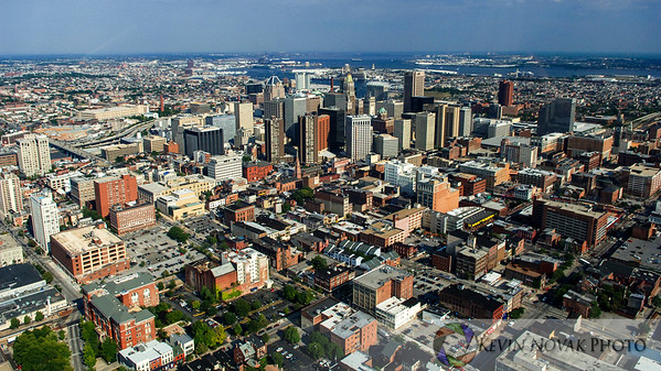 Aerial View Baltimore MD