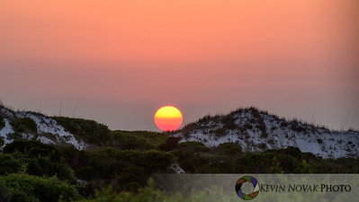 Sunset, St. Andrews State Park, Panama City Beach, FL.  ©2014 Kevin Novak.