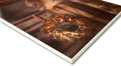 "Canvas Stretch/Staple mounting is a unique way to display your images like a fine art canvas. The print is stretched to the edge of a 3/4"" thick wooden frame, and stapled around the edges, leaving the full image on the front. Perfect for framing."