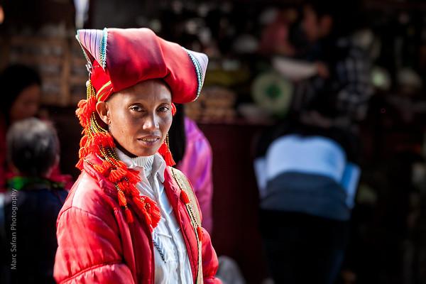 Red Hmong woman Sapa, Vietnam Vietnam