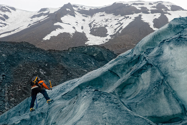 Glacier Golden CIrcle, Iceland