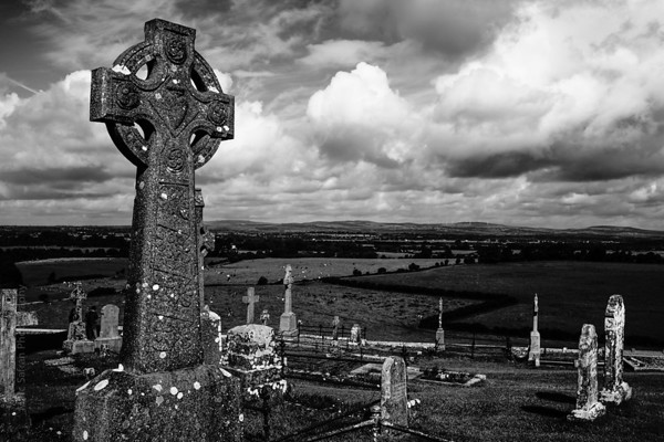 Rock of Cashel, cemetary
