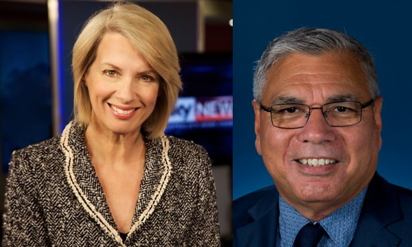 Helen Dalley and Warren Mundine