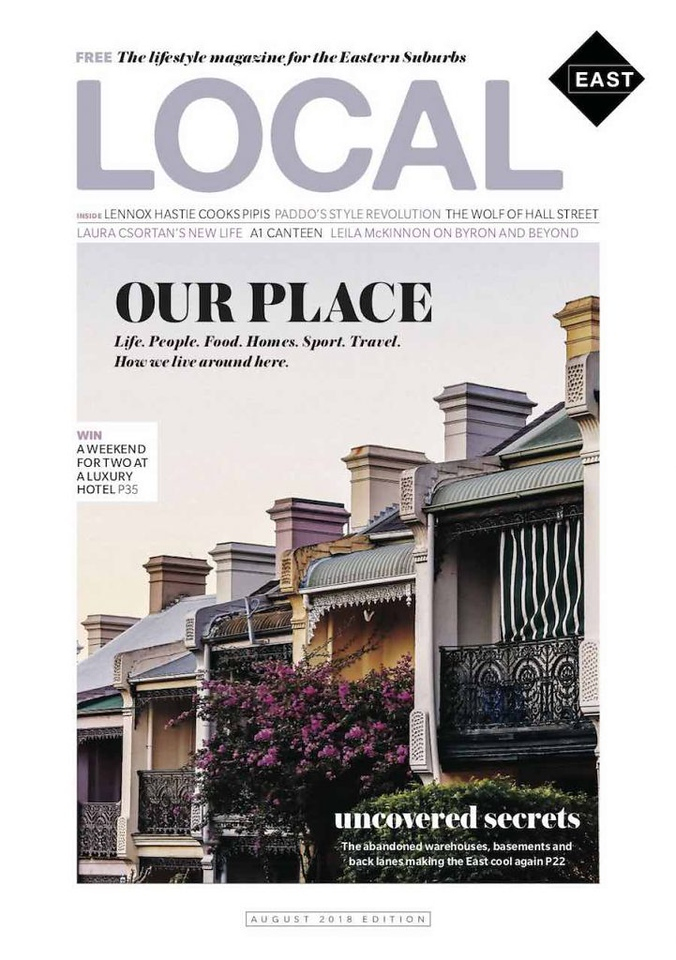 Local East pilot issue (photo credit: Mediaweek)