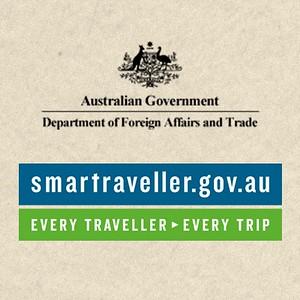 Smartraveller DFAT card - YT