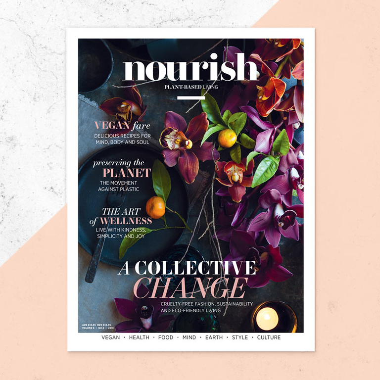 Nourish magazine relaunched (photo credit: Lovatts Media)