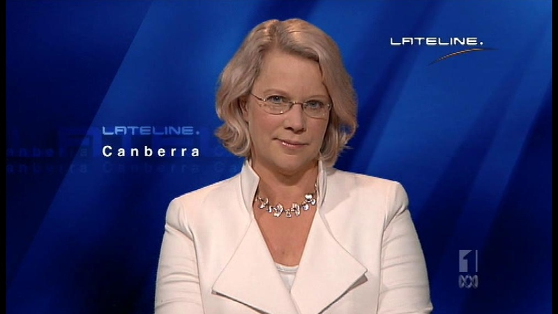 Laura Tingle (photo credit: ABC Lateline)