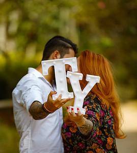 Pre-wedding de Yasmin e Thiago. Jardim Botânico de São Paulo, SP, 23/03/2018. Foto: Murillo Medina.