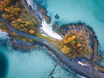 De drone fotos zijn gemaakt met de drone van Norge Reiser :)