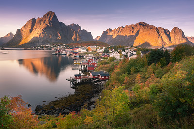 Autumn in Reine