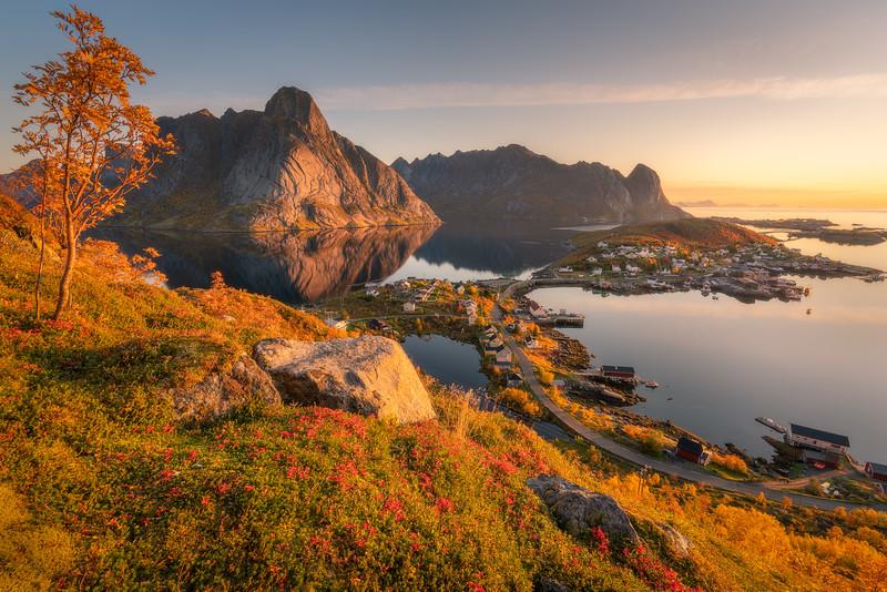 Autumn in the Lofoten