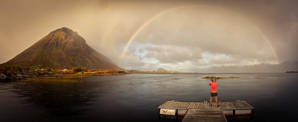 Ramon under the Rainbow :)