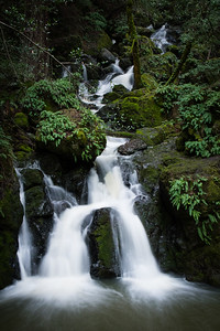 Falls along Cataract Creek