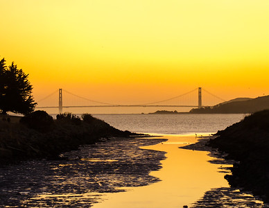 So that's why they call it the Golden Gate