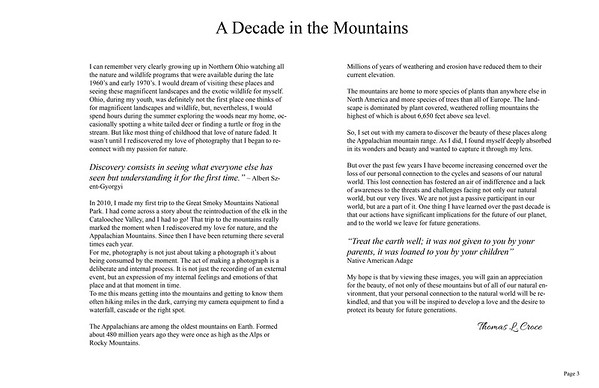 A Decade In The Mountains