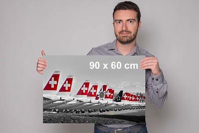 Wandbild «Swiss-Grounding» 90 x 60 cm