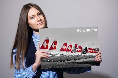 Wandbild «Swiss-Grounding» 60 x 40 cm