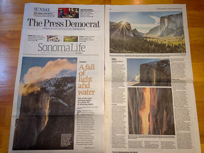 Press Democrat Feb 26, 2017: Story and Photos by Jim Nevill