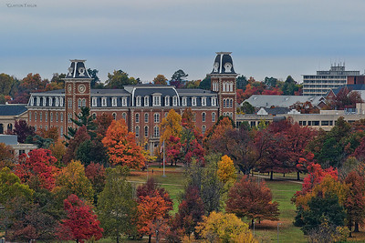 """Old Main"" University of Arkansas Fayetteville, AR"