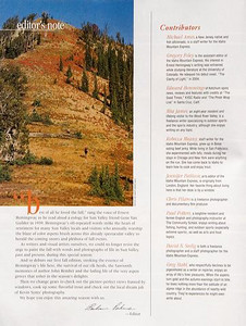 Sun Valley Guide Magazine - Editorial 2