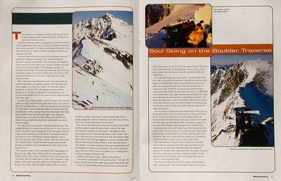 Backcountry Magazine - Private Idaho 2