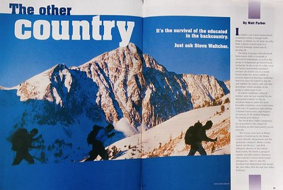 Sun Valley Guide Magazine - Editorial 1