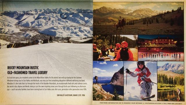Ketchum/Sun Valley Chamber Brochure