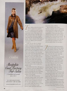 Sun Valley Guide Magazine - Editorial 6