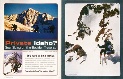 Backcountry Magazine - Private Idaho 1