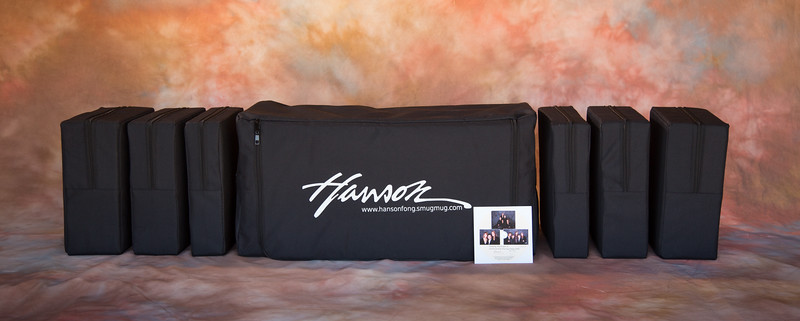 "Hanson's EZ-Steps<br /> <br /> 5th Generation EZ steps made of high density foam, both sides of each step is protected by a plastic sheath. <br /> Each set purchased comes with a complimentary DVD,  ""Family Portrait II: Instructional Posing Steps DVD!"" The Large set is designed to be used for family portraits and the Small set is designed to be used for weddings.<br /> <br /> <br /> <br /> <br /> Large Set 5th Generation: In Stock<br /> <br /> Consists of Two (2) 5"" steps, Two (2) 4"" steps and Two (2) 3"" steps for a total of six steps (24"").<br /> $285.00/set plus $37.00 shipping"