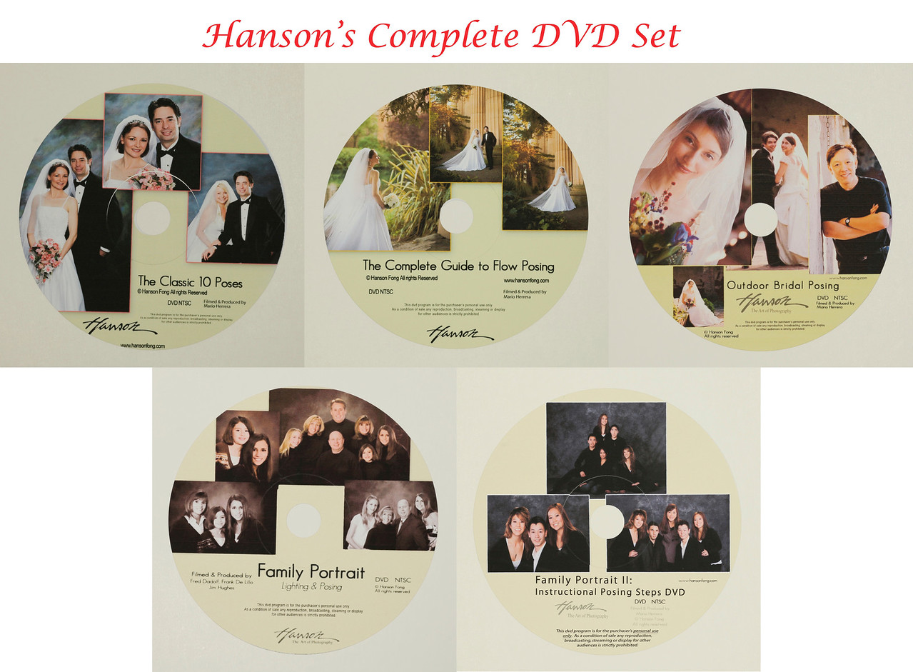 Hanson's Complete DVD Set $200<br /> <br /> A savings of nearly $100 for the set of 5!