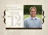 5x7 two-sided Graduation invitation on heavy card stock